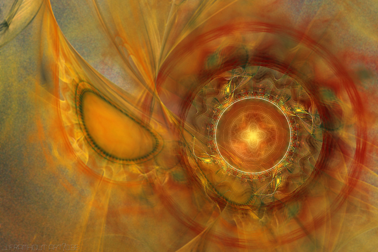 Solar Wind, fractal art by Johan Framhout on art7d.be