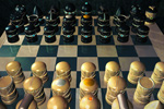 to 3D-art, 3D graphics, Limited World Chess by Johan Framhout