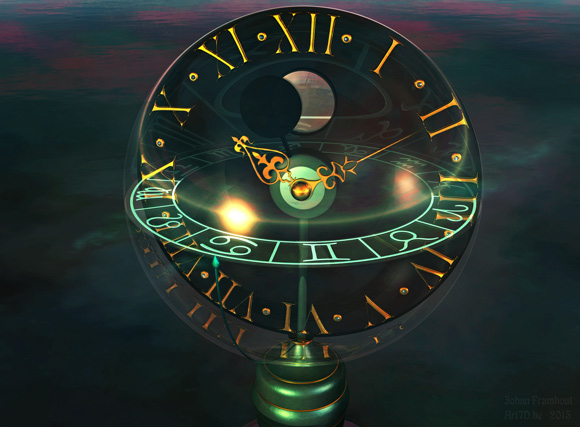 3D-art, 3D graphics, Watch me by Johan Framhout
