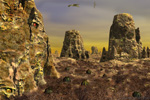 to Krekeleer, matte painting by Johan Framhout