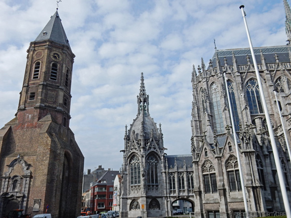 Oostende, neo-gothic church