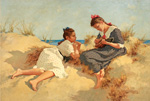 to Art7D.be, Painting for January 2016 - week 4: Hermann Seeger (Germany 1857 - 1920)