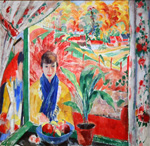 to Art7D.be, Painting for September 2016 - week 3, Rik Wouters (Belgian 1882 - 1916), Autumn