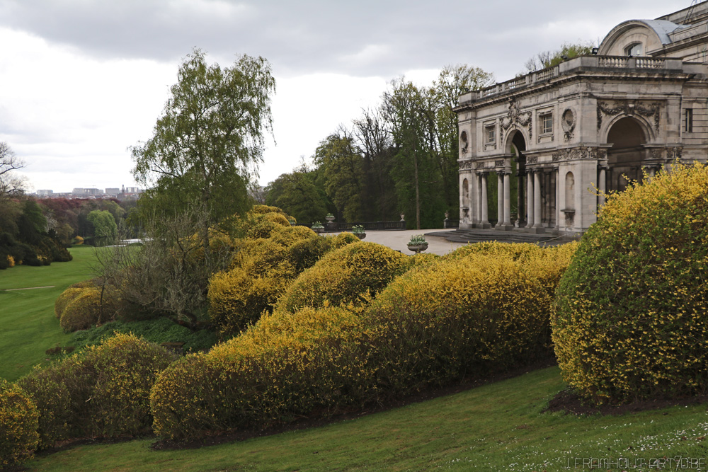 Photos of the royal greenhouses in Brussels on art7d.be