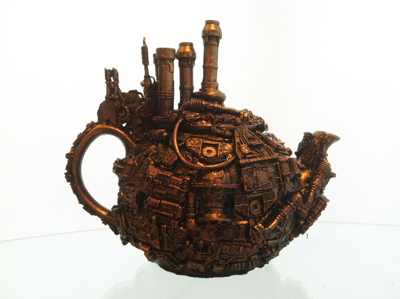 Richard Symons, Steampunk teapot
