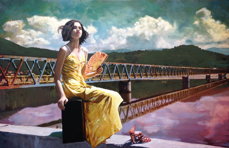 William Oxer, The journey