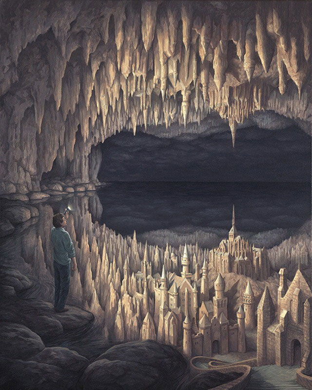 Rob Gonsalves (oil paintings)
