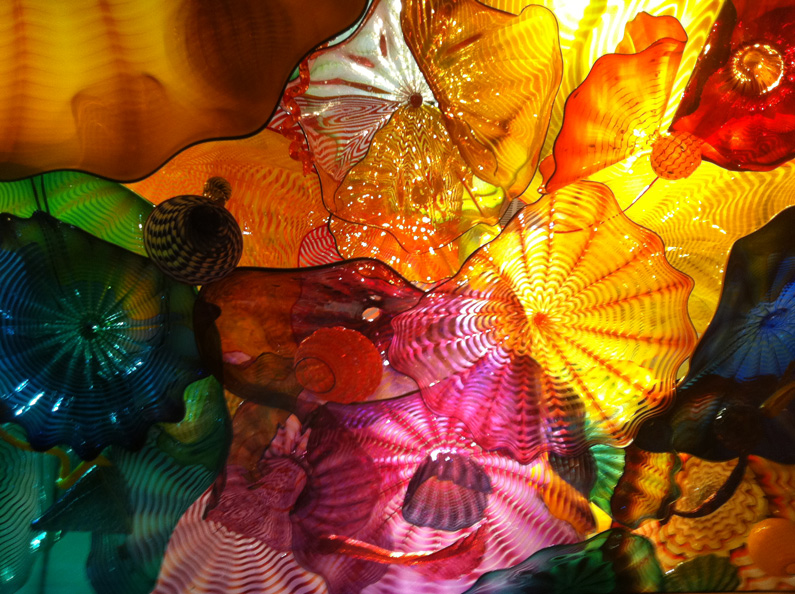 Dale Chihuly, glass sculpture