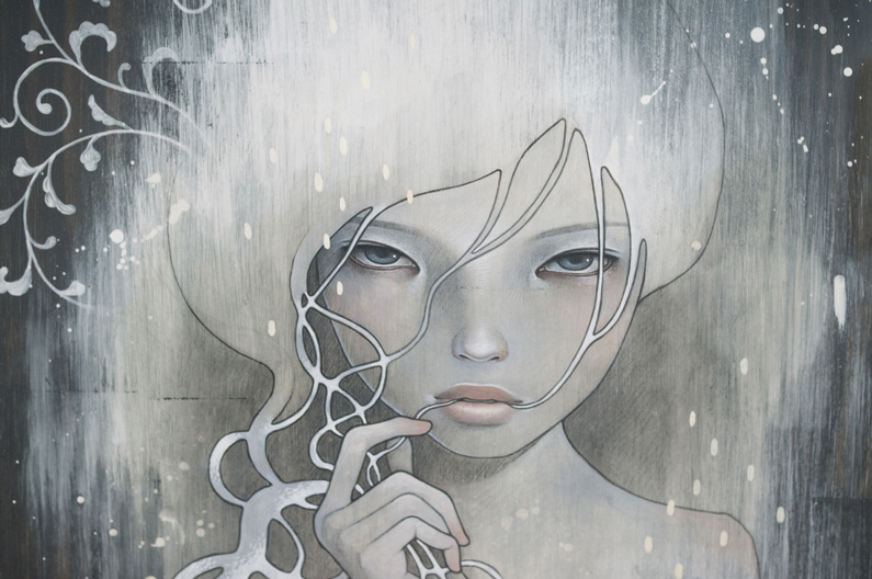 Audrey Kawasaki, She who dares, detail