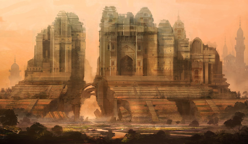 Cliff Childs, Temple Ruins