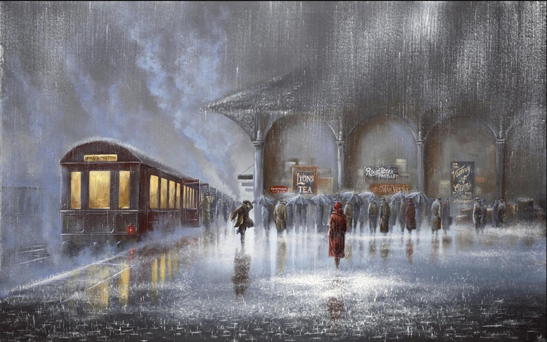Jeff Rowland, Station in the Rain
