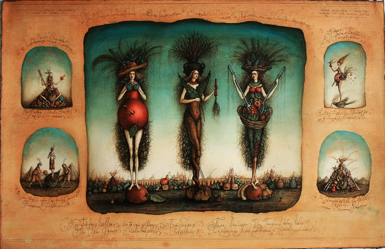 Tanya Miller, The three Graces