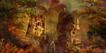 matte-painting Polyarchus' Dream