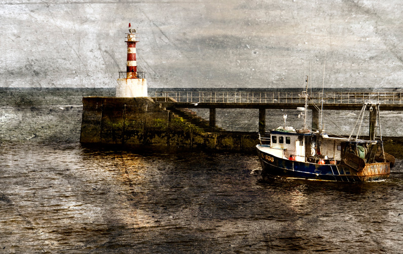 Graeme Pattison, Northumberland Harbour (photo manipulation)