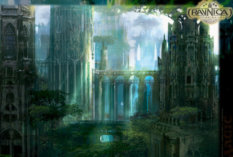 Stephan Martiniere, Forest, Ravnica