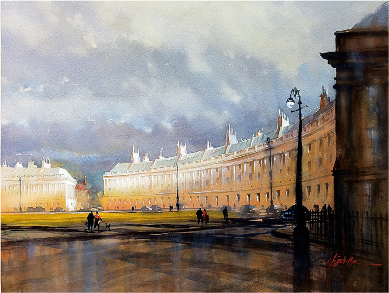 Thomas W. Schaller, Royal Crescent - Bath