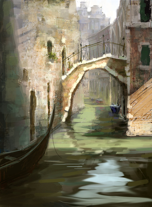 Marco Bucco, Venice (digital painting)
