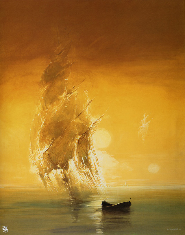 Ma Siudmak, Phantom sailing Ship
