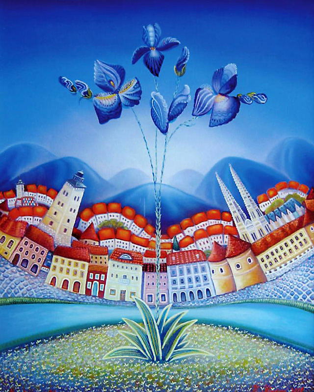 Katarina Krvarich, Croatian Flower