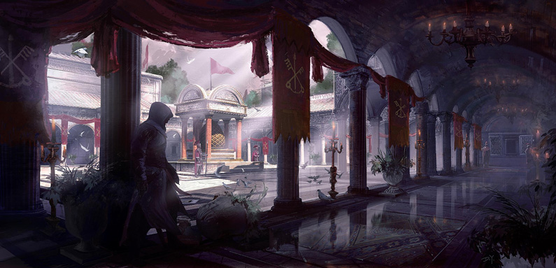 Donglu Yu, Assassin's Creed Brotherhood Vatican Cloister
