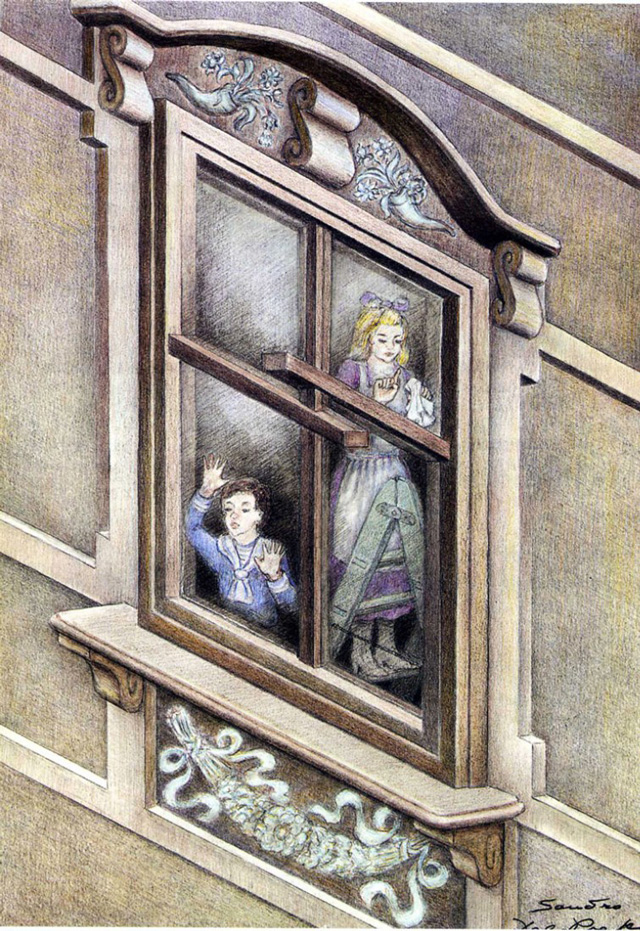 Sandro del Prete, Children at impossible Window