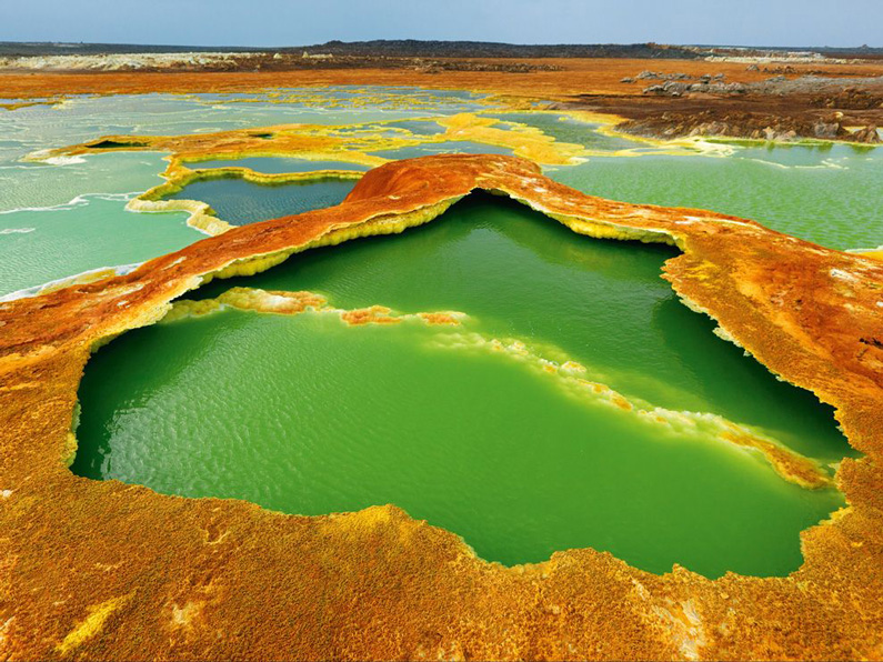 George Steinmetz, Hot Springs, East Africa