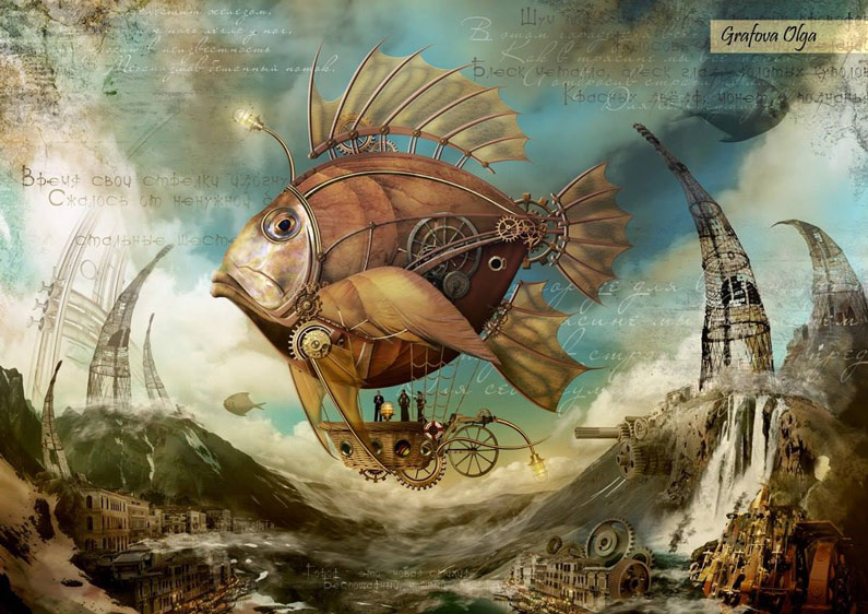 Olga Grafova, Fish Airship