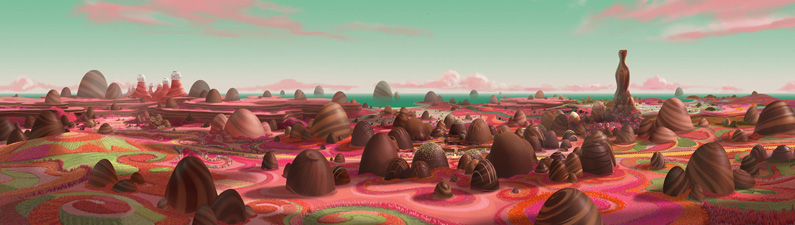 Jigo Kuen, Matte Painting for Ralph
