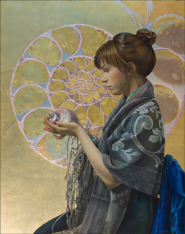 Fred Wessel, Contemplating Fibonacci's Spiral