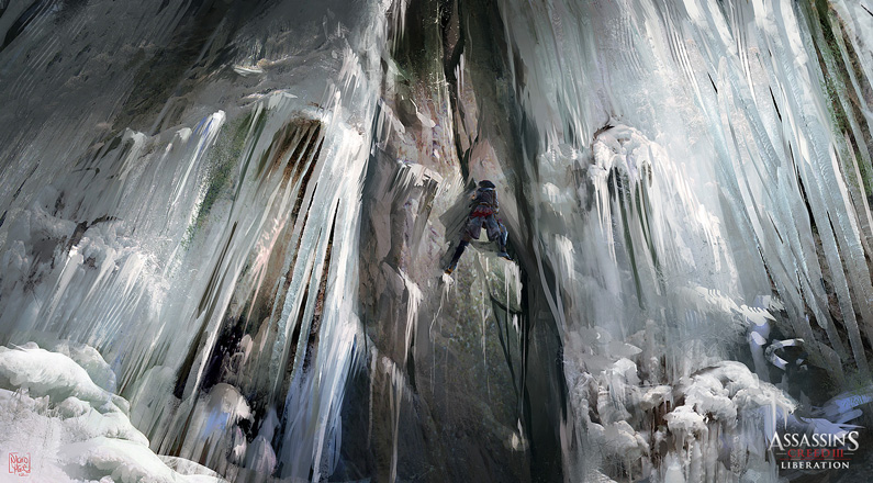 Nacho Yagüe, Liberation frozen Waterfall