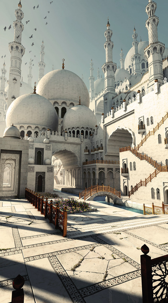 Gurmukh Bhasin, Middle Eastern Mosque