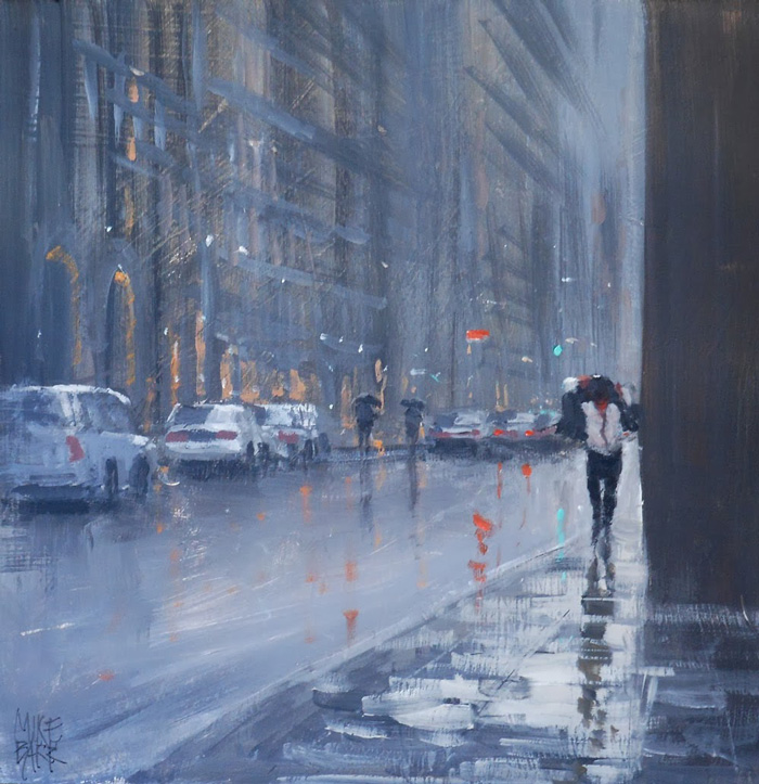 Mike Barr, Caught in the Rain