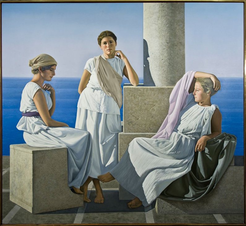 David Ligare, Three Grecian Women