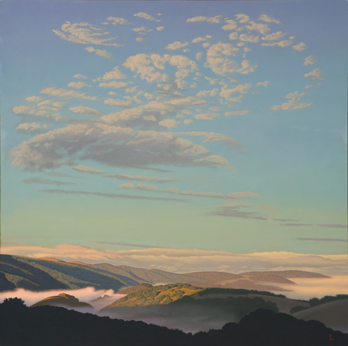 David Ligare, Early Morning Corral de Tierre