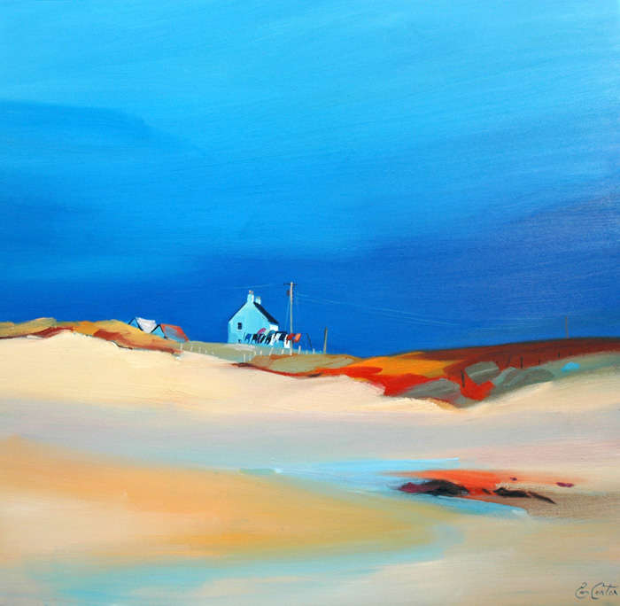 Pam Carter, Gable by the Sea (oil)