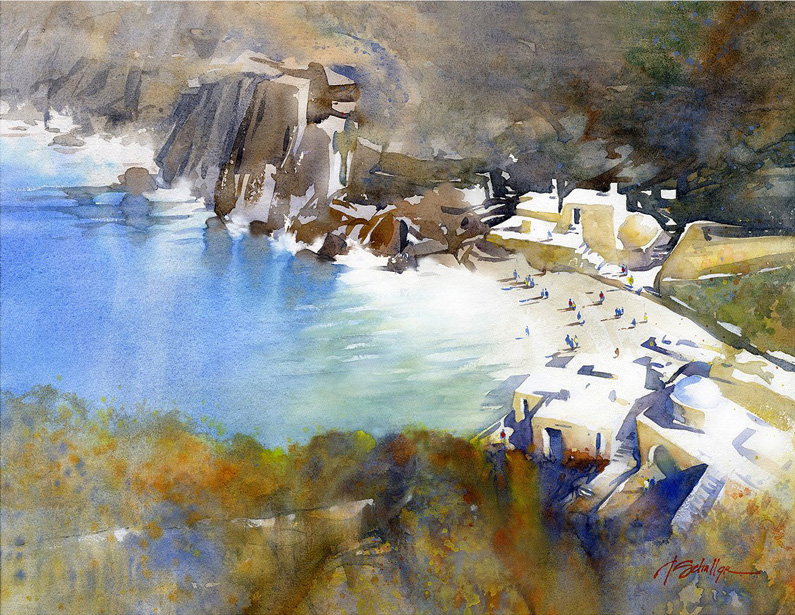 Thomas W. Schaller, swimming cove – sifnos, greece