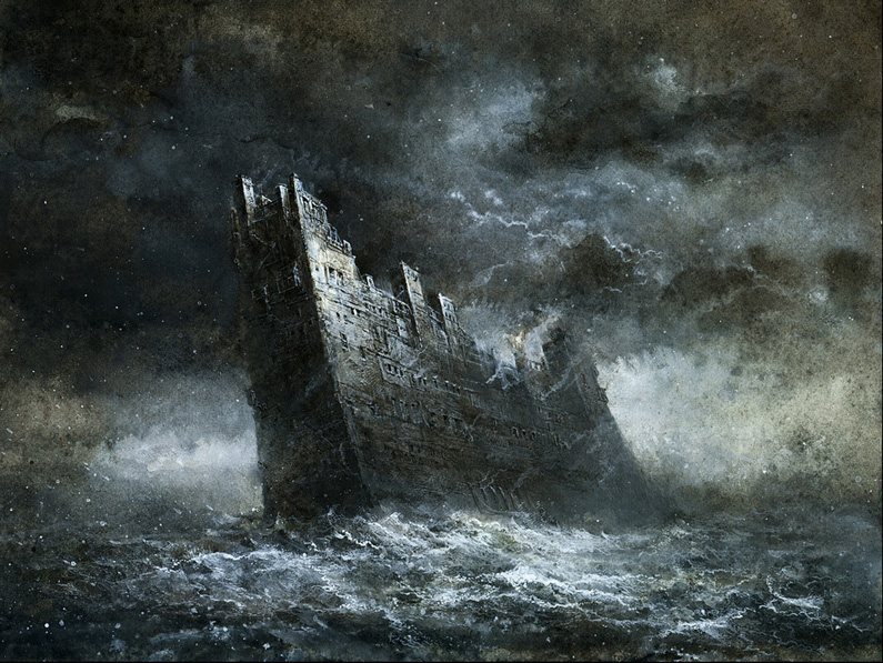 Yaroslav Gerzhedovich, Castle of the Sea