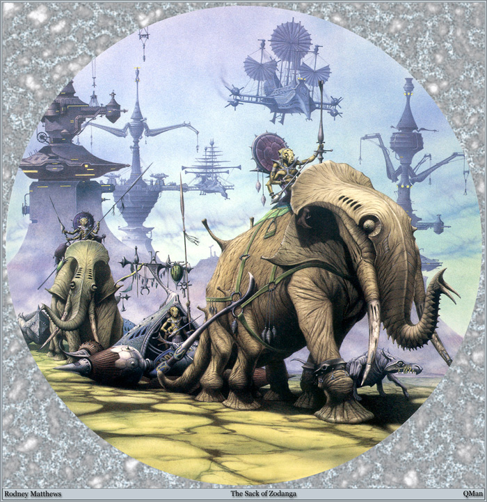 Rodney Matthews, The Sack of Zodaga
