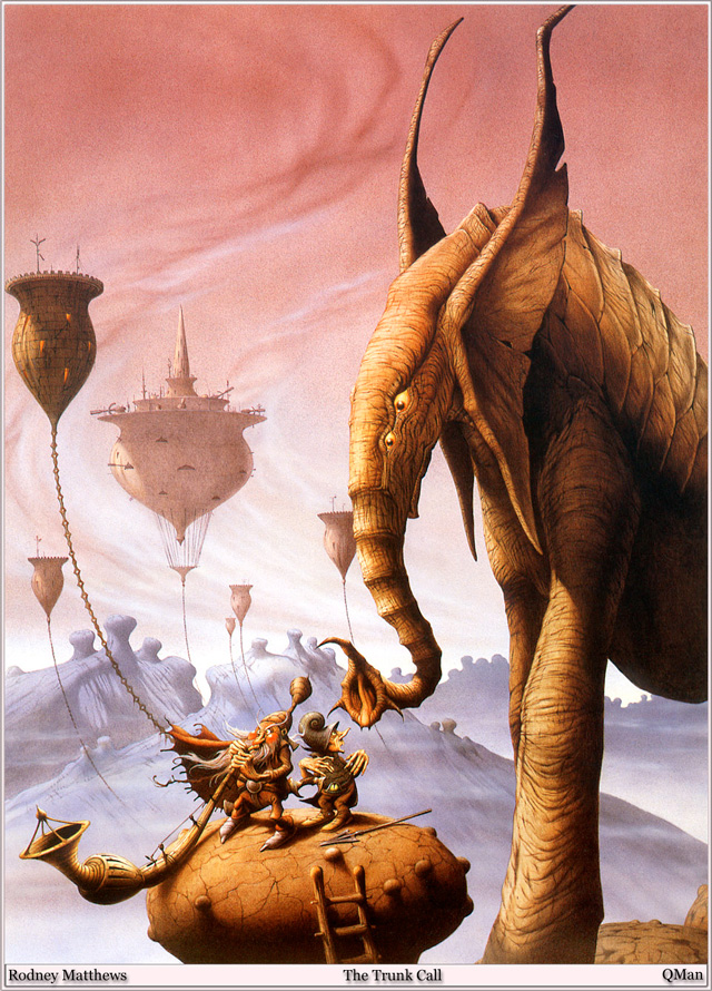 Rodney Matthews, The Trunk Call