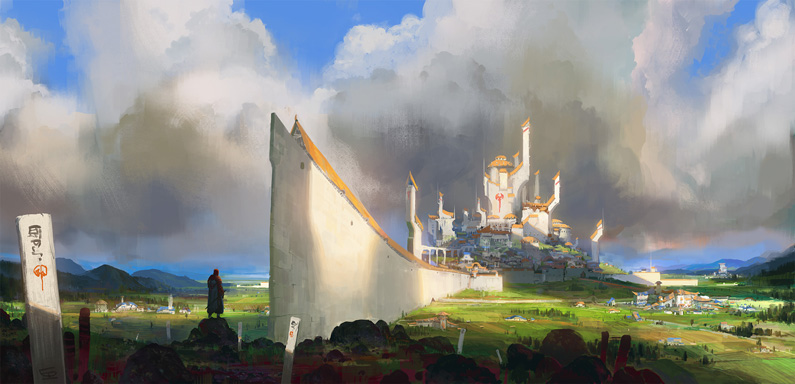 Luc de Haan, The Castle