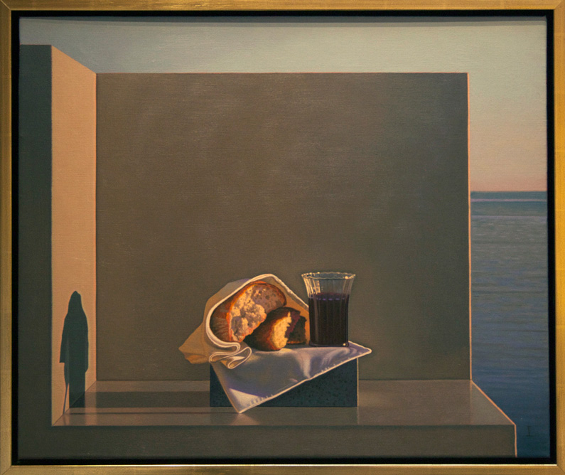 David Ligare, Still Life with Bread & Wine