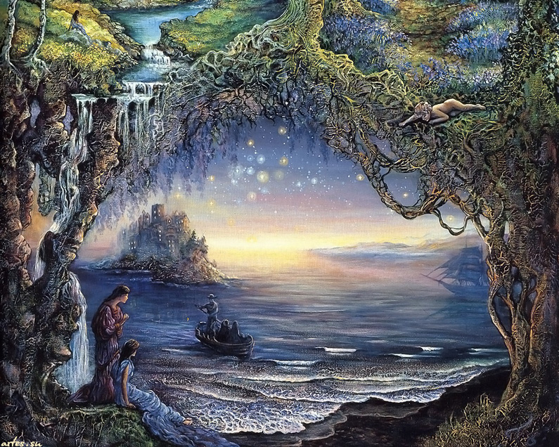 Josephine Wall, Three Wishes