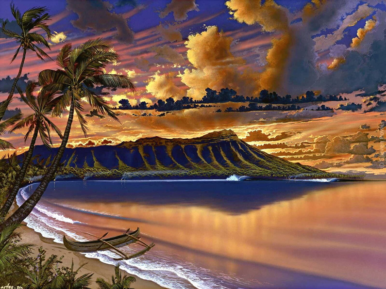 Steven Power, Sea, tropical Paradise