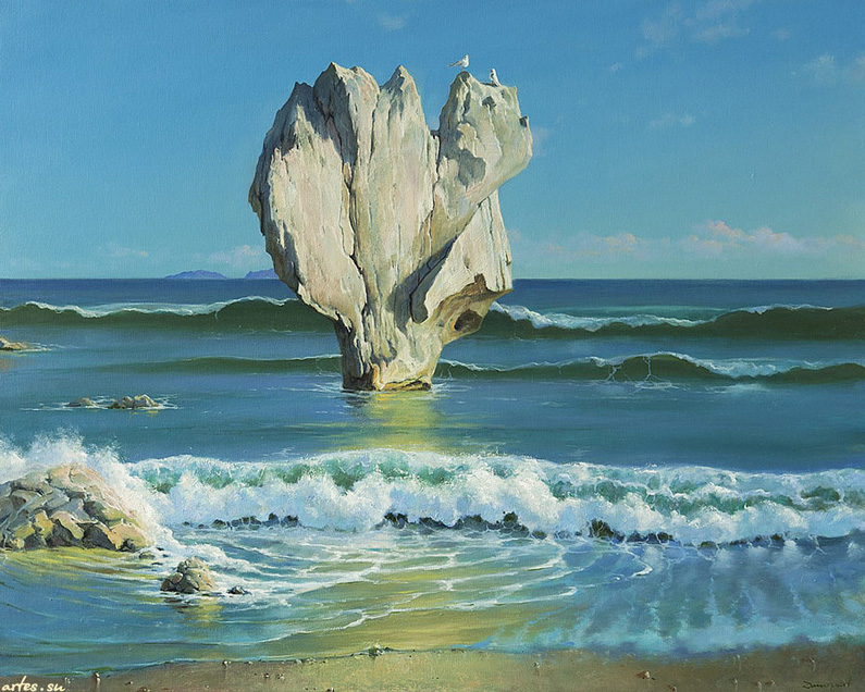 George Dmitriev, Rock near the Shore
