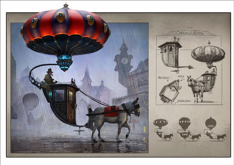 Chad Weatherford, Balloon Carriage