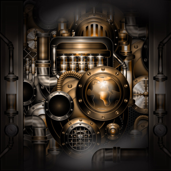 Georgie Retzer, Steampunk Machine
