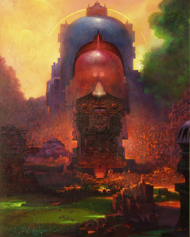 Paul Lehr, Monument to the Oppressor