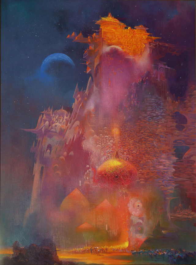Paul Lehr, Parapet in golden Light