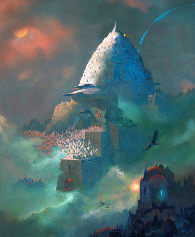 Paul Lehr, Fortress on the Rocks
