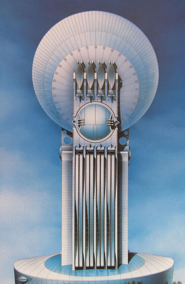 Shin Takamatsu, Moon Tower Project